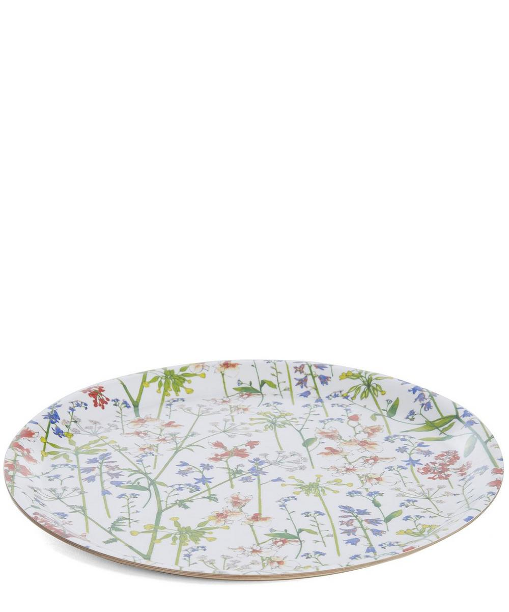 Small Liberty London Print Round Tray