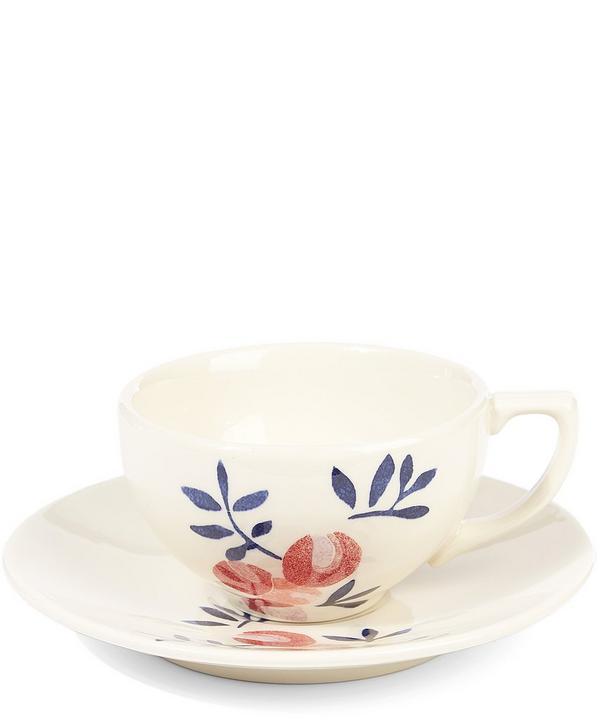 Liberty Print Cup and Saucer