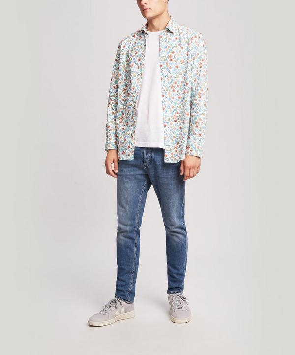Men's Liberty Print Cotton Shirt