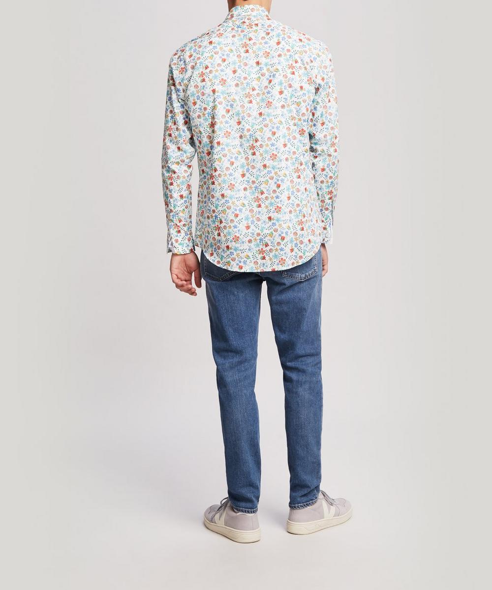 Men's Liberty Print Cotton Shirt
