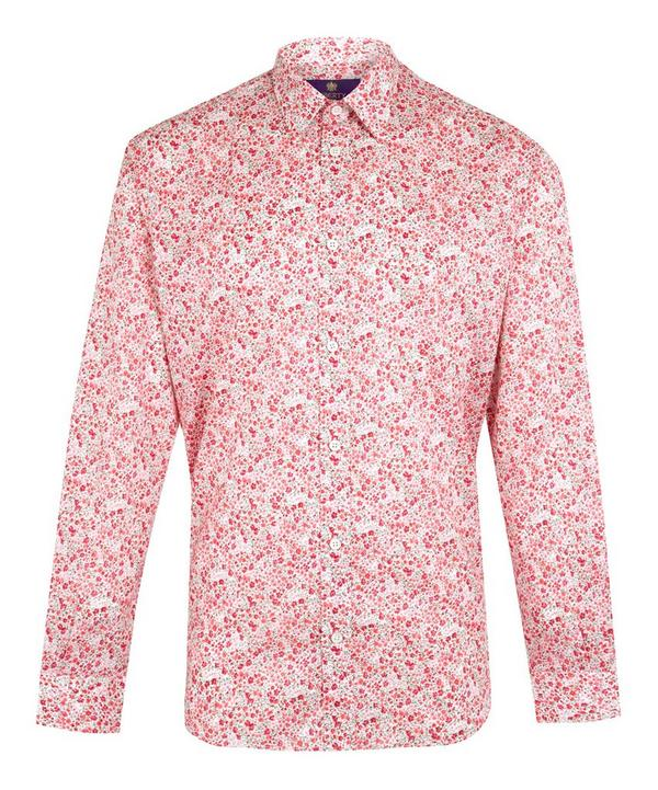 Phoebe Print Cotton Shirt
