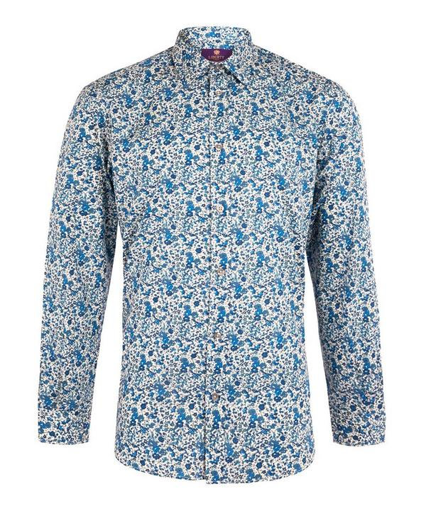 Men's Emma and Georgina Print Cotton Shirt