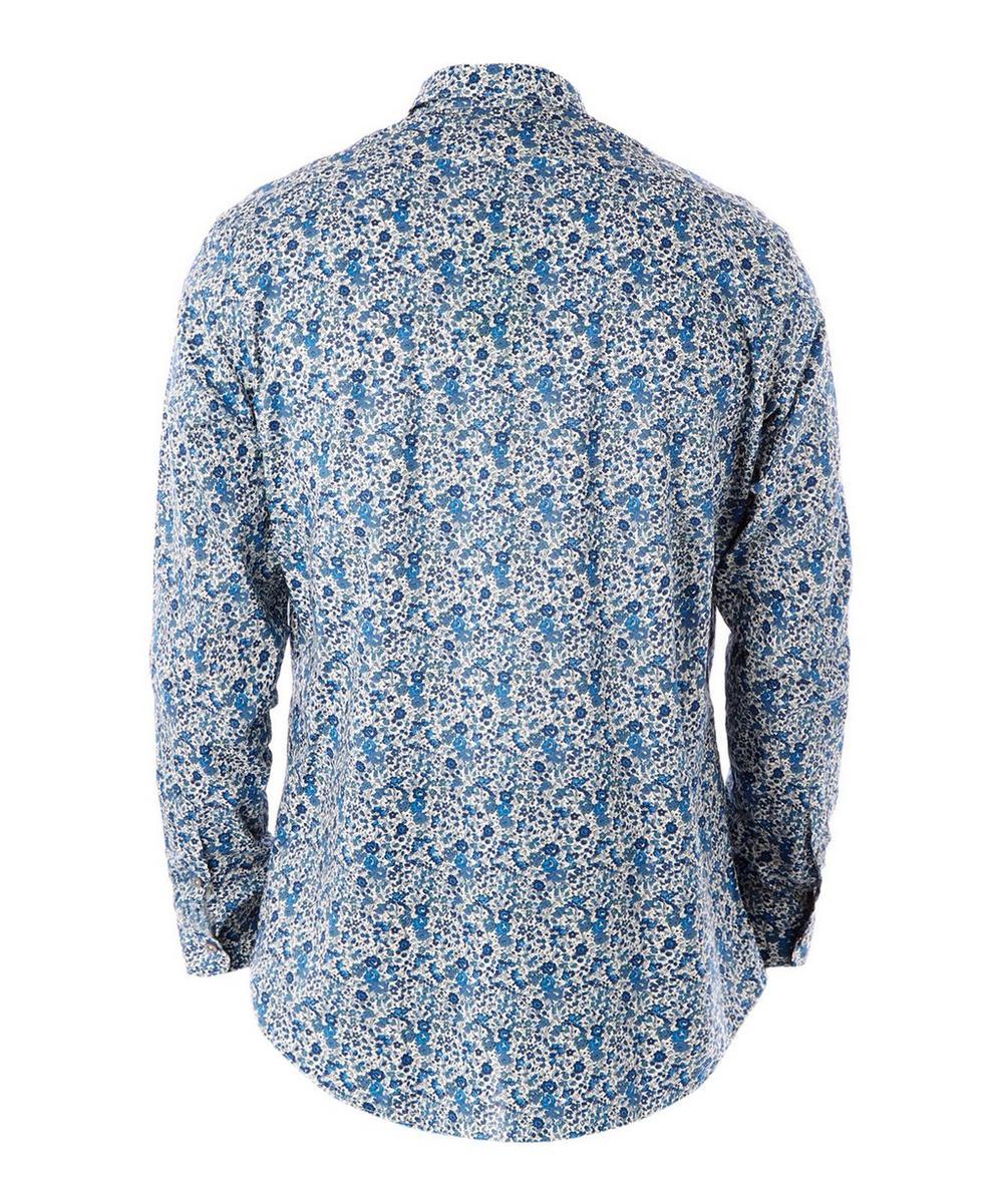 Men's Emma and Georgina Print Cotton Shirt