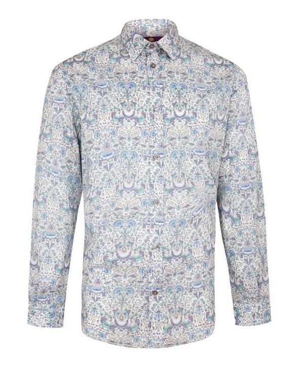 Men's Lodden Print Cotton Shirt