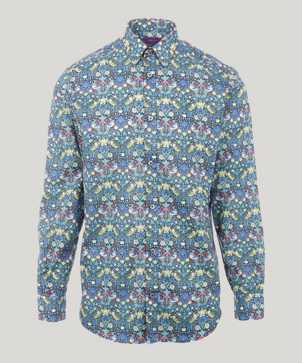 Men's Strawberry Thief Print Cotton Shirt