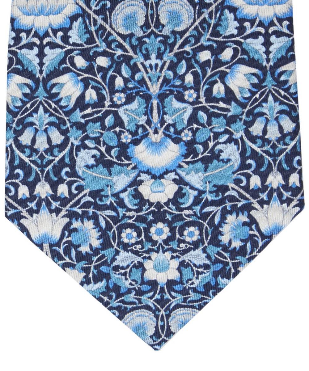 Lodden Print Silk Tie