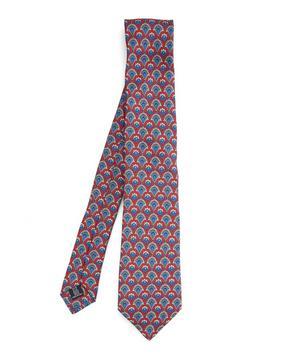 Fairlie Print Silk Tie