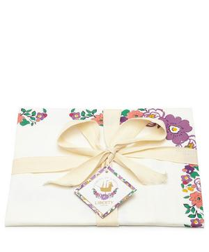Liberty Print Bordered Cotton Tea Towel
