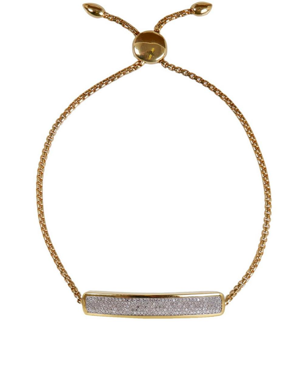 Vermeil Diamond Baja Chain Bracelet