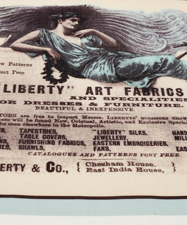 Liberty Archive Print Cotton Tea Towel