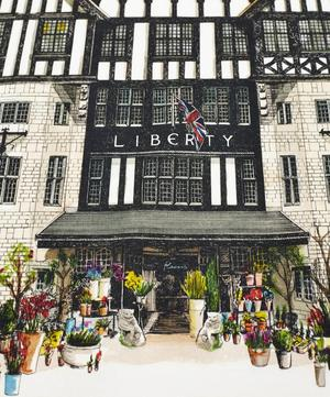 Liberty Storefront Cotton Tea Towel