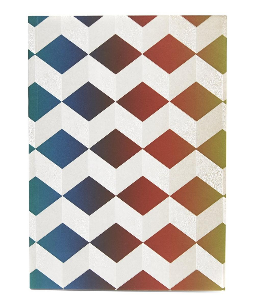 Geometric School Notebook