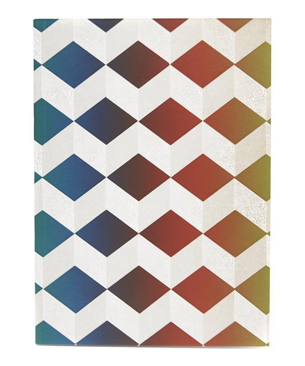 Geometric School Notebook