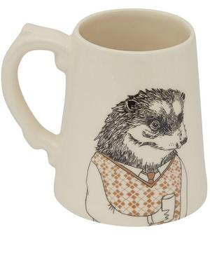 Mr Hedgehog Ceramic Tankard