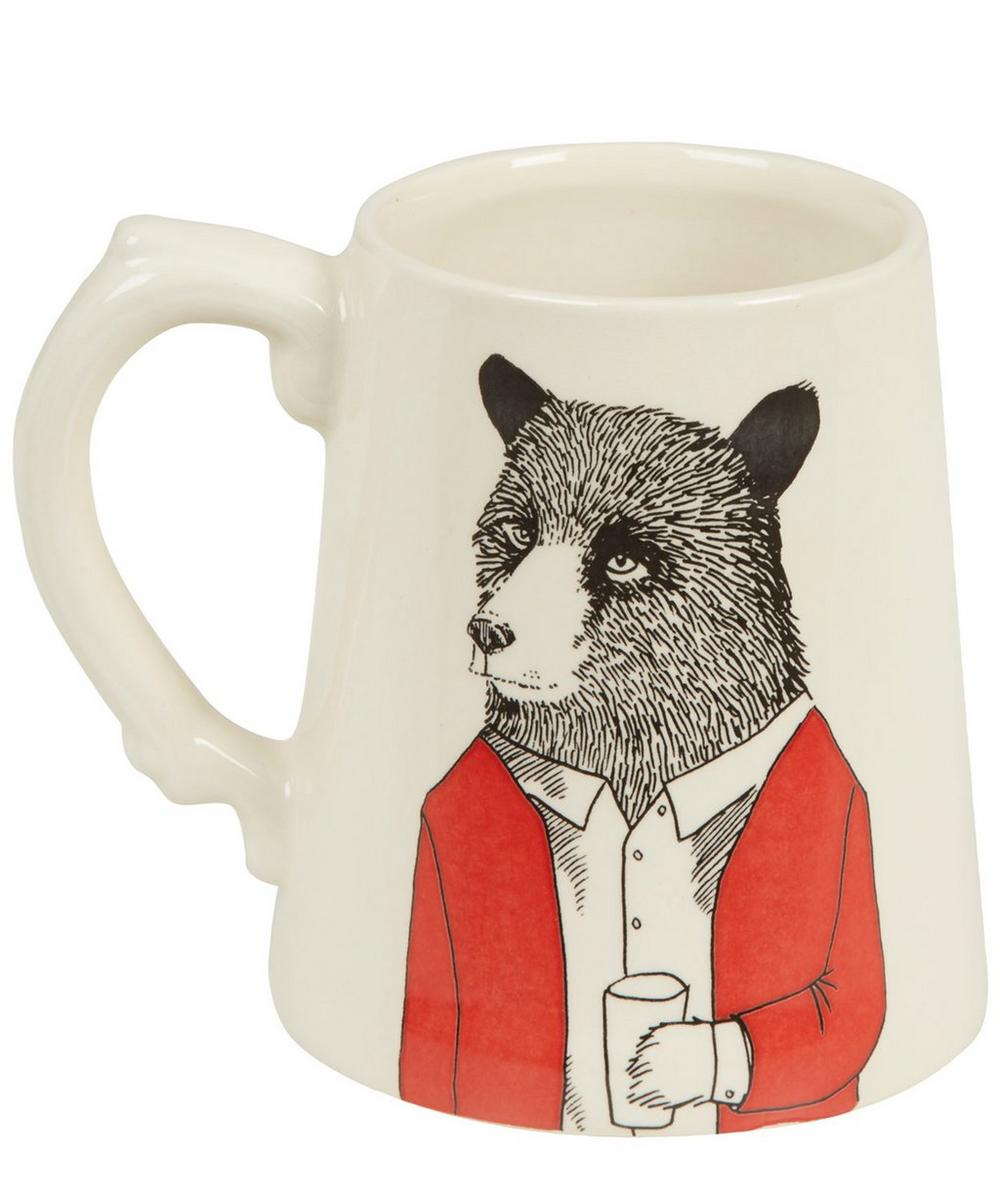 Mr Bear Ceramic Tankard