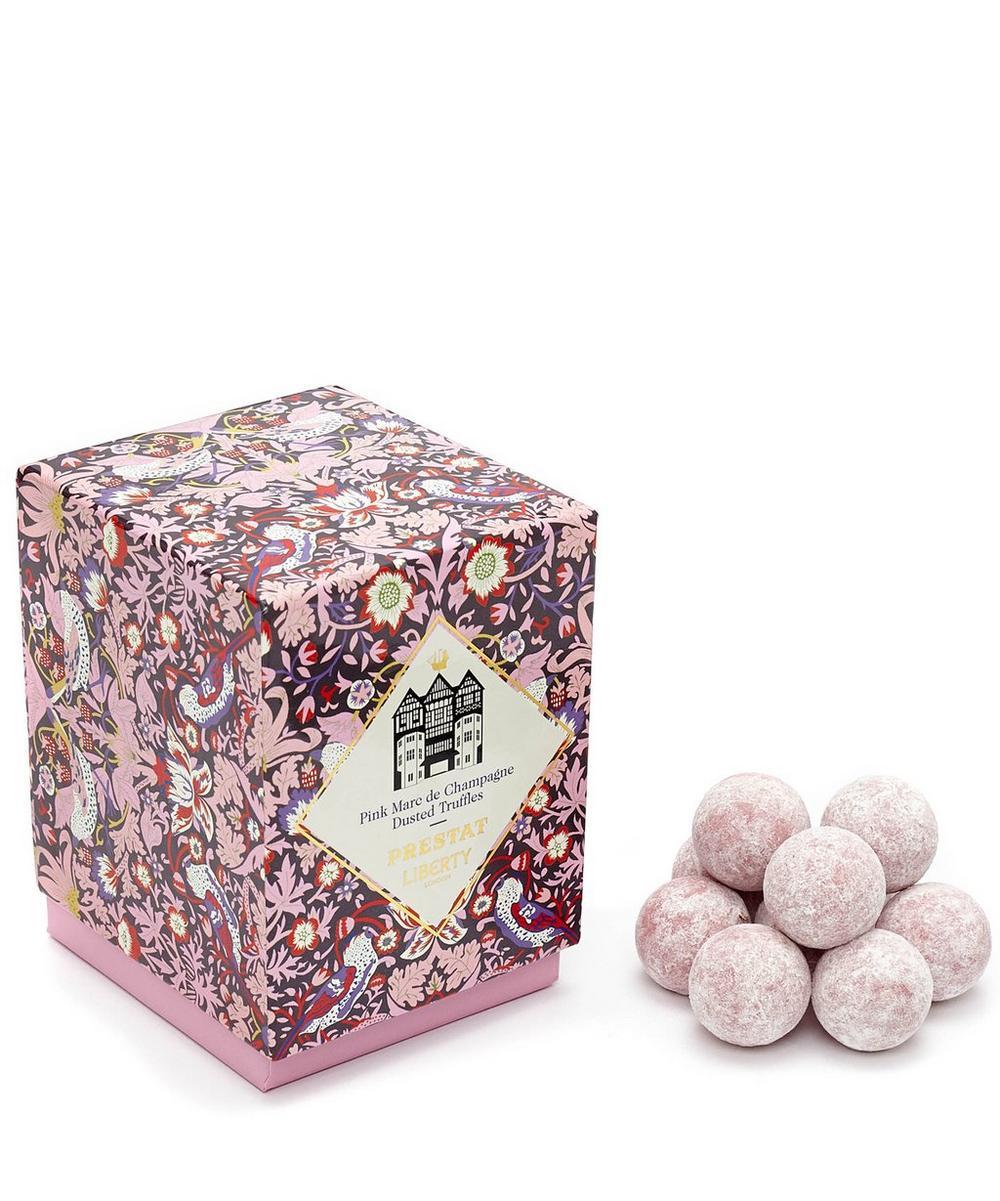Prestat Pink Marc de Champagne Dusted Truffles