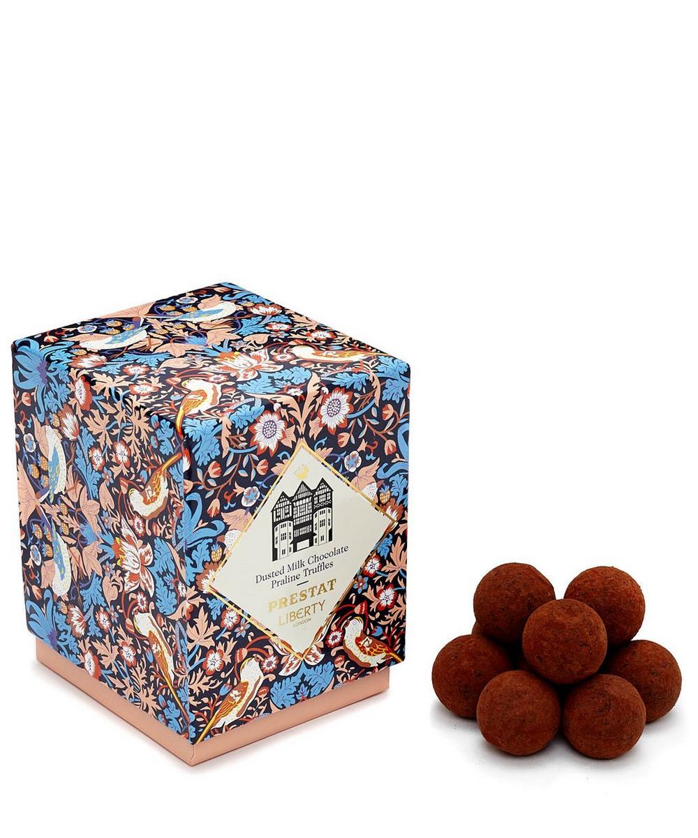 Prestat Dusted Milk Chocolate Praline Truffles