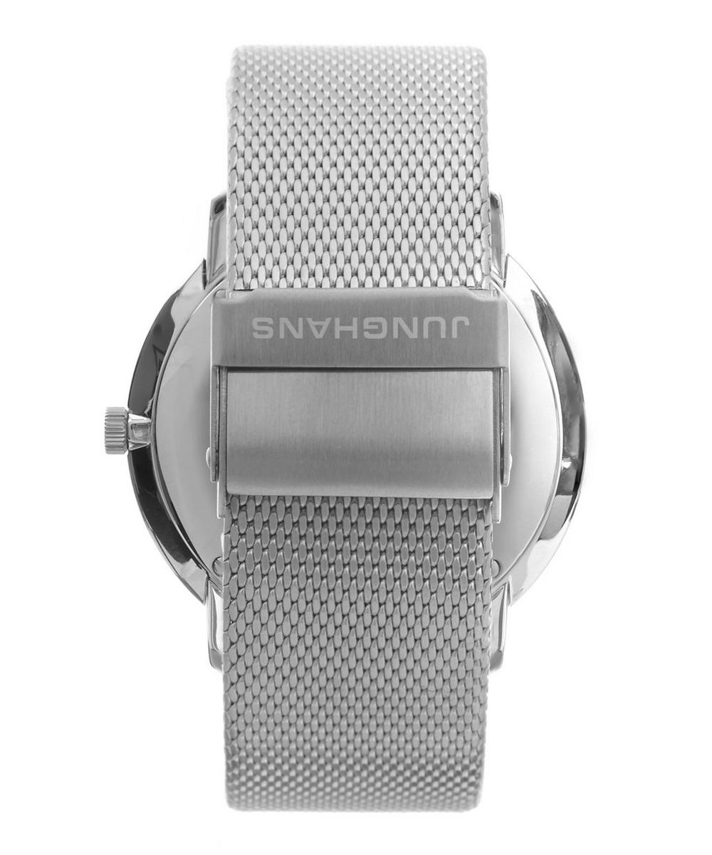 Max Bill Silver Quartz Watch