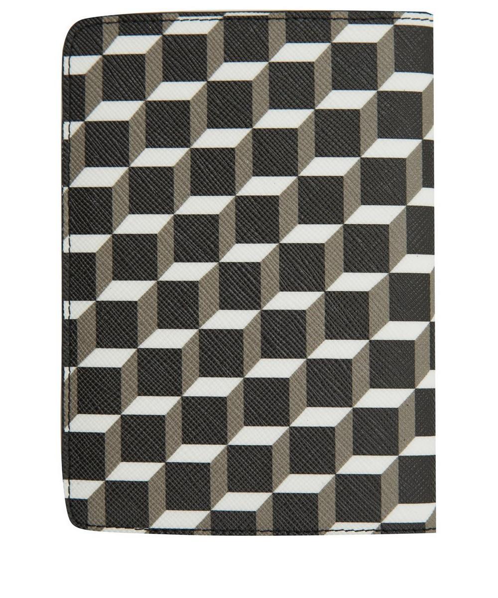Canvas Cube Print Passport Cover