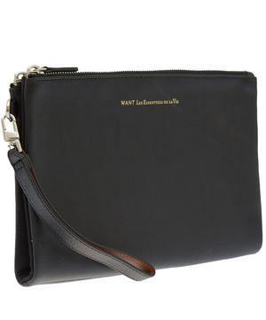 Barajas Leather Folio Pouch