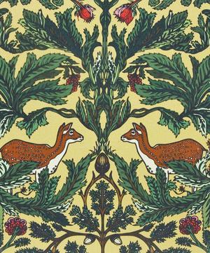 Deer Forest Silk Cushion