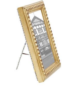 Gold Leaf 4 x 6 Romano Frame