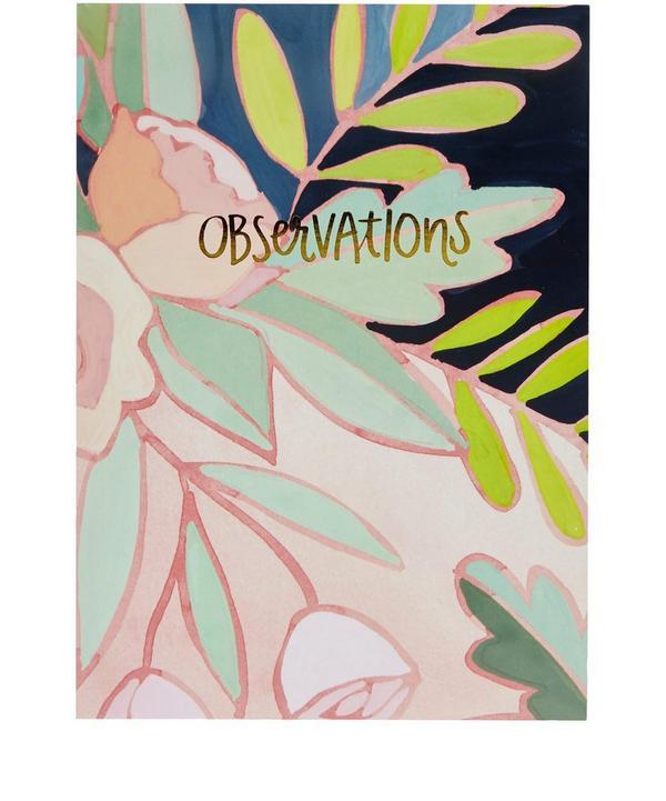 Floral Foil Journal
