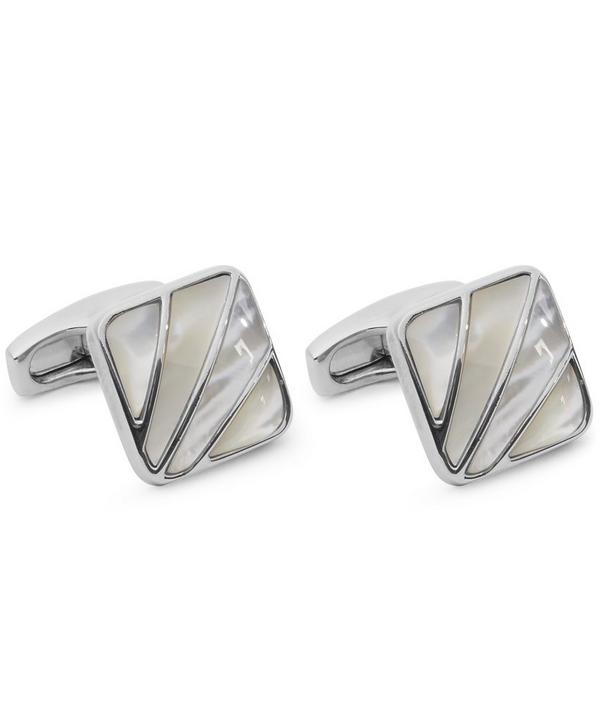Mother-Of-Pearl Art Deco Cufflinks
