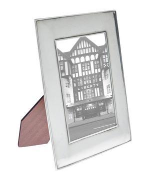 Silver-Tone Siena 5 x 7 Pewter Photo Frame