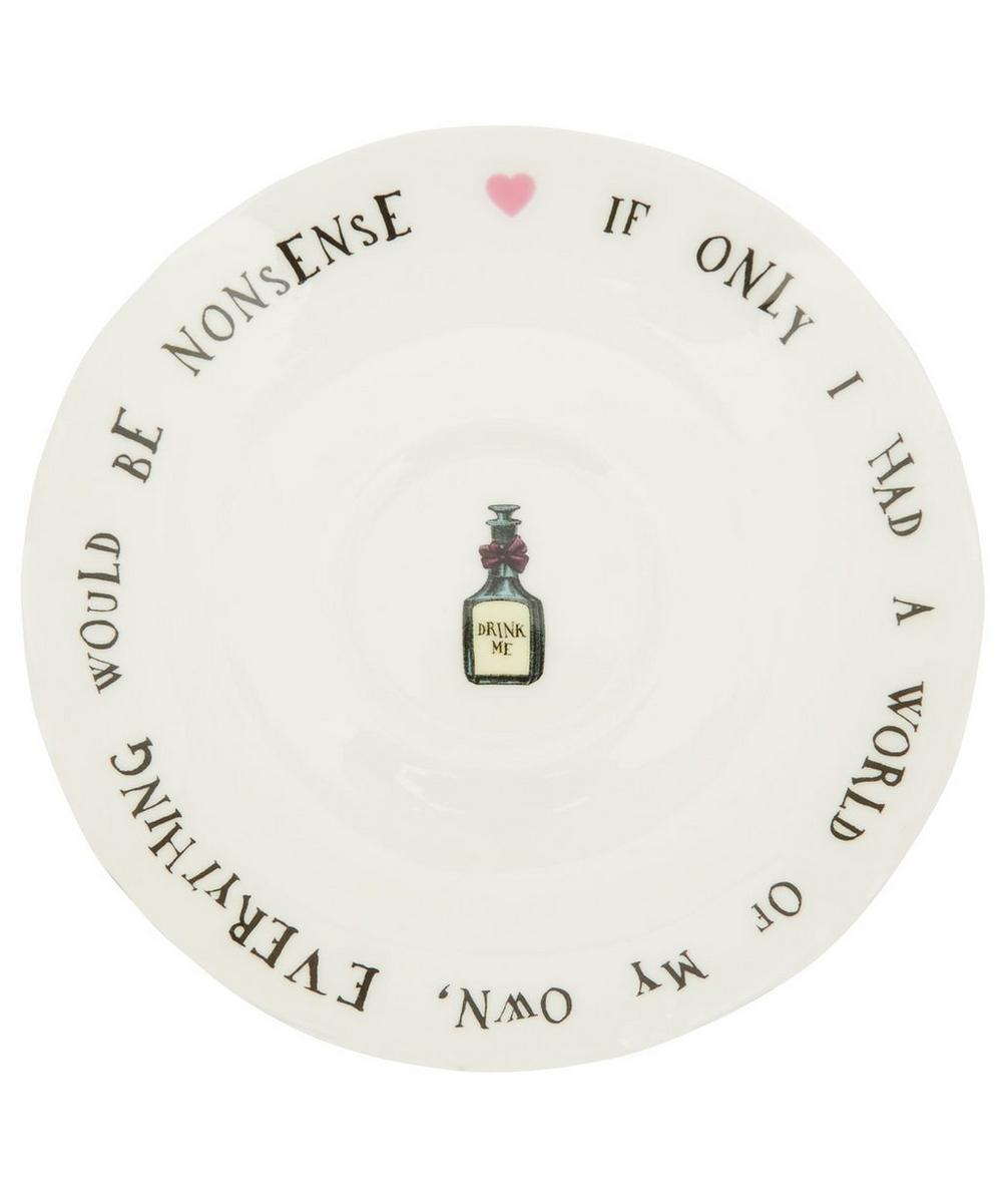 Alice in Wonderland Bone China Cup and Saucer
