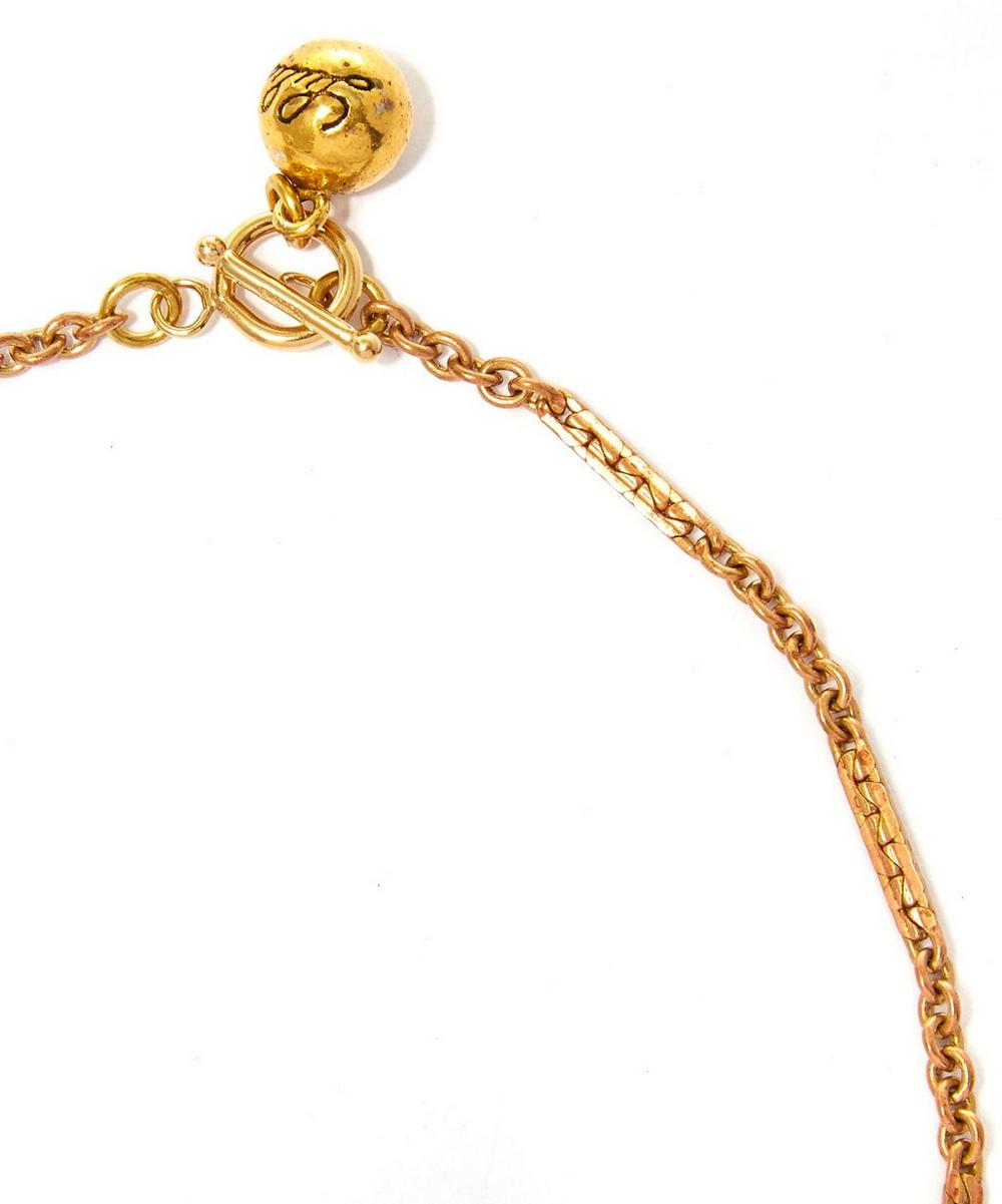Gold-Tone Radiant Necklace
