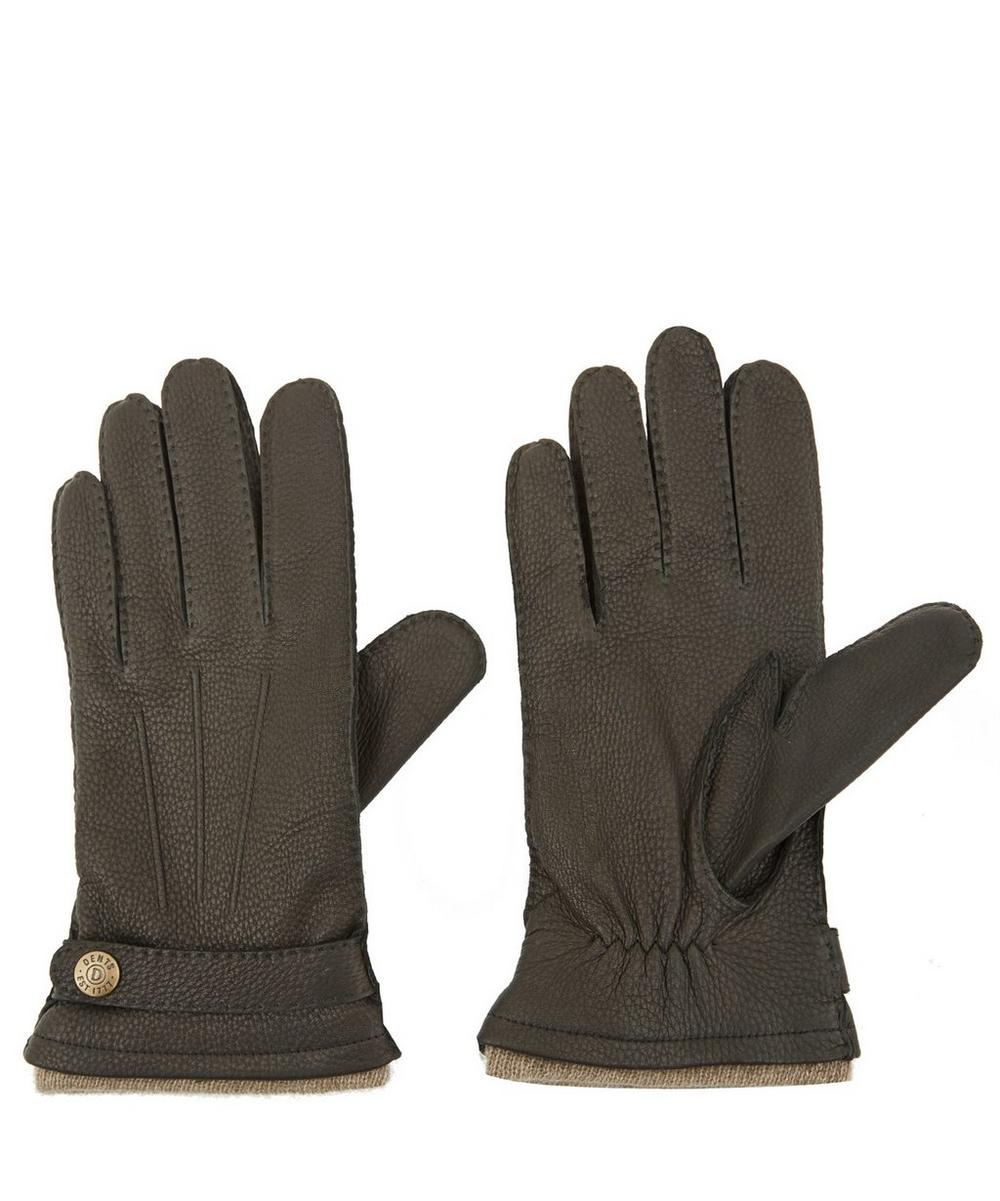 Cashmere Lined Deerskin Gloves