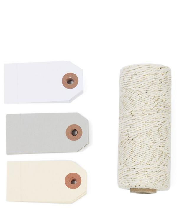 Tags and Twine Stationery Set
