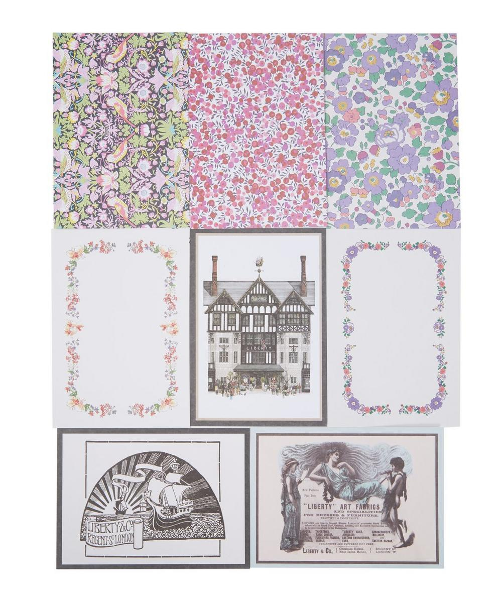Liberty Print Postcards