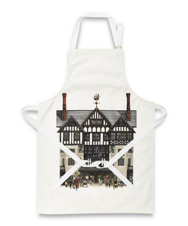 Liberty Building Cotton Apron