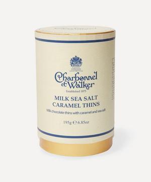 Milk Sea Salt Caramel Thins 195g