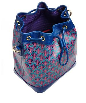 Argyll Bucket Bag in Iphis Canvas