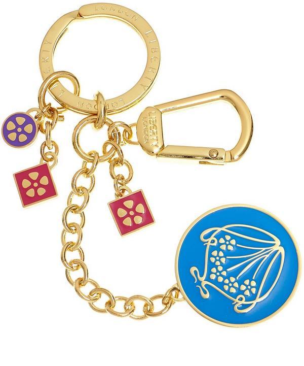 Iphis Enamel Chain Keyring