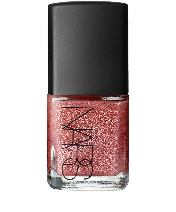 Nail Polish in Arabesque Glitter Sheer Pink