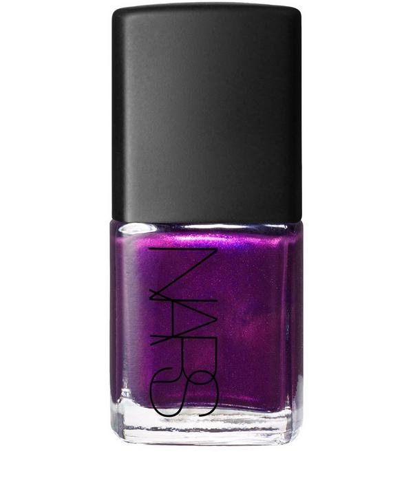 Nail Polish in Purple Rain