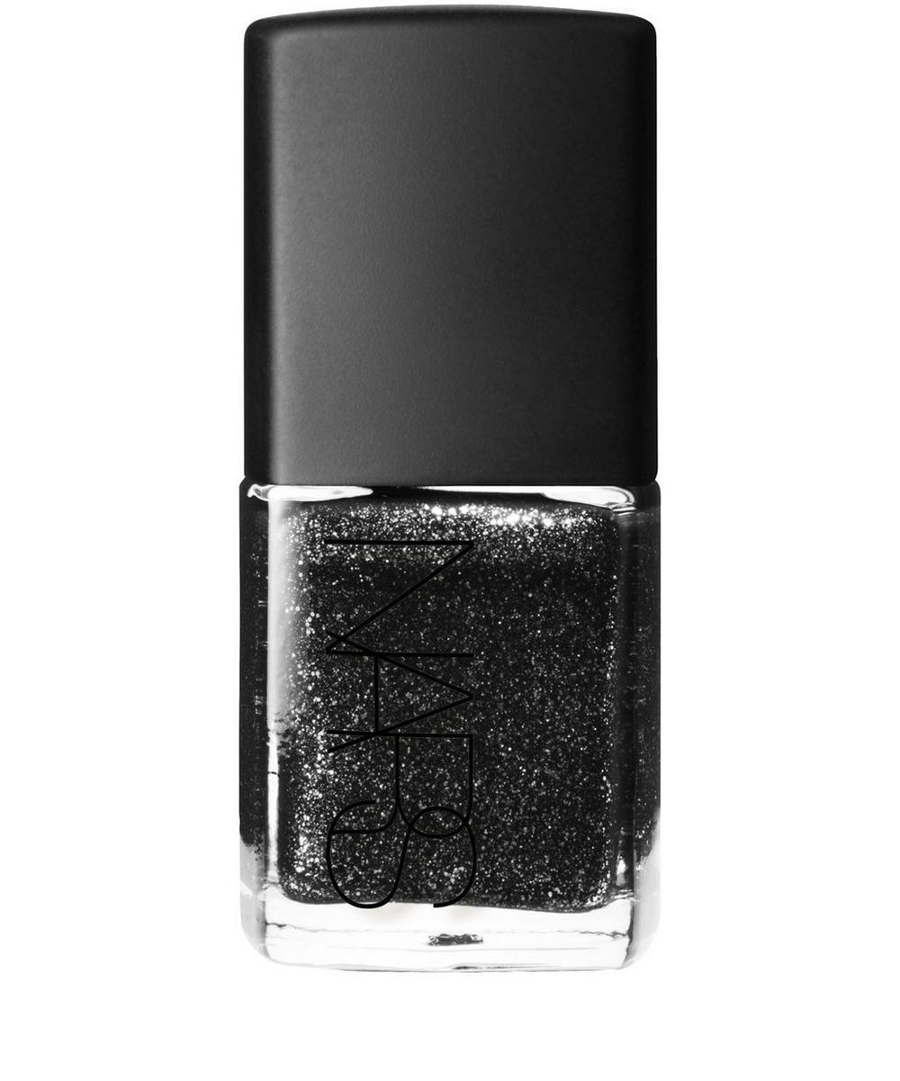 Nail Polish in Night Breed Glitter Black