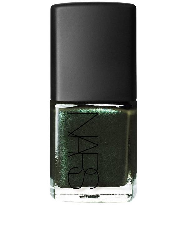 Nail Polish in Night Porter Pearl Green