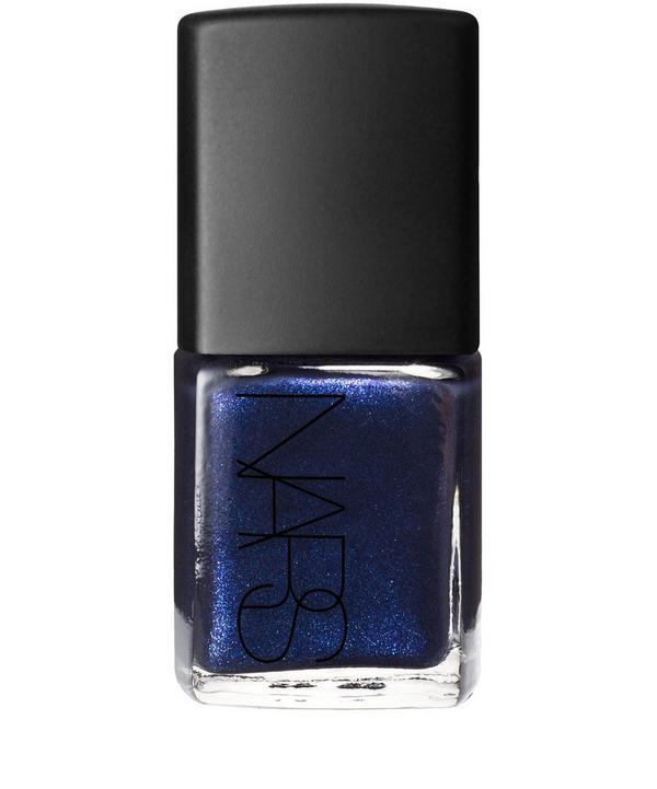 Nail Polish in Night Flight Pearl Blue