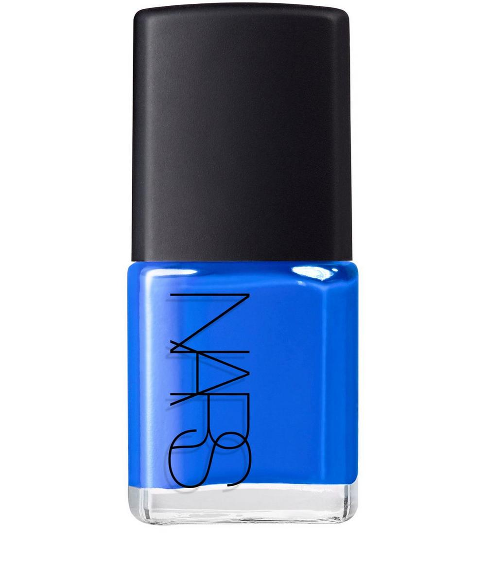 Nail Polish in Night Out Bright True Blue