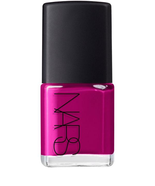 Nail Polish in Fearless Bright Pink Violet
