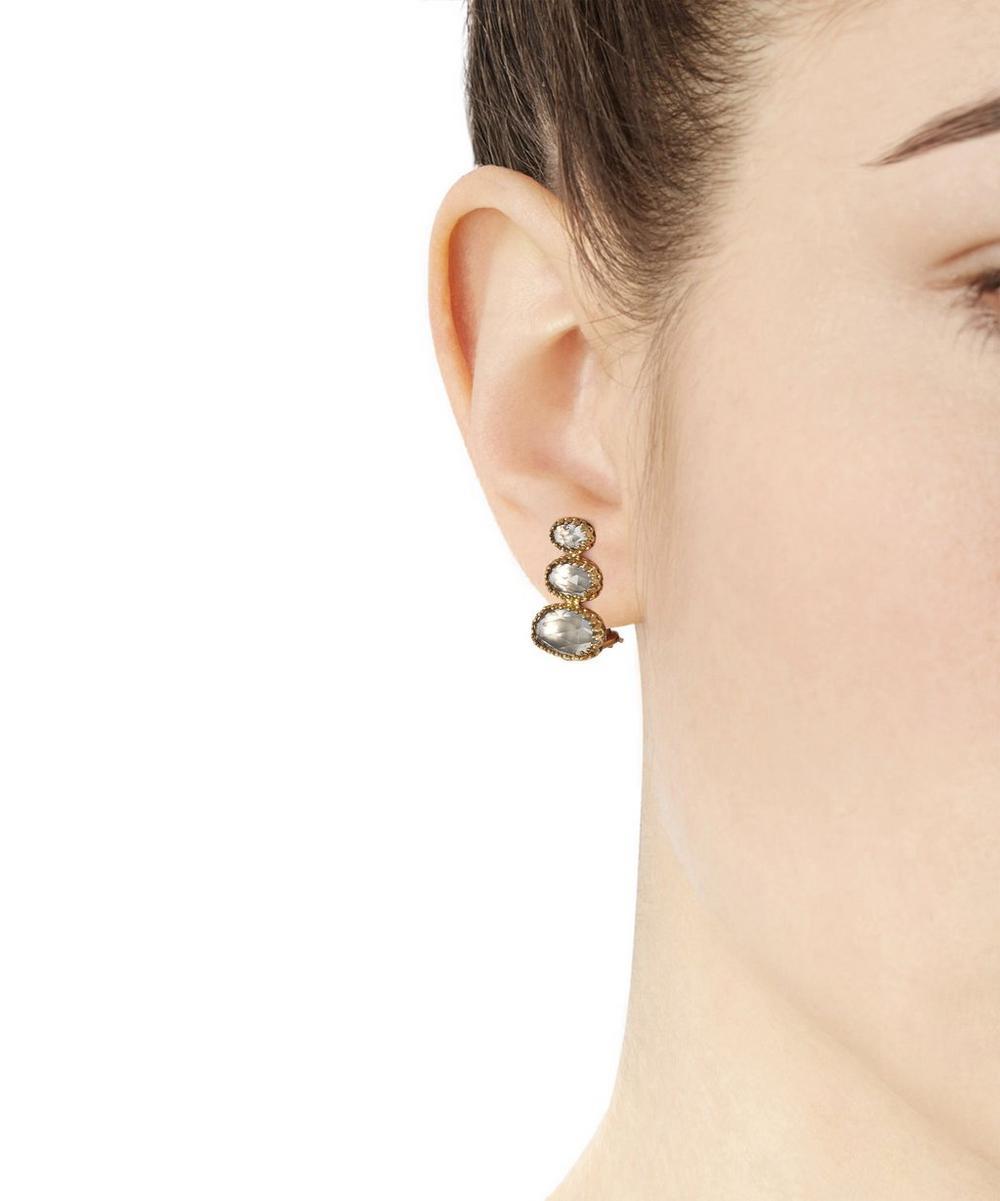 Gold Topaz Tessa Earrings