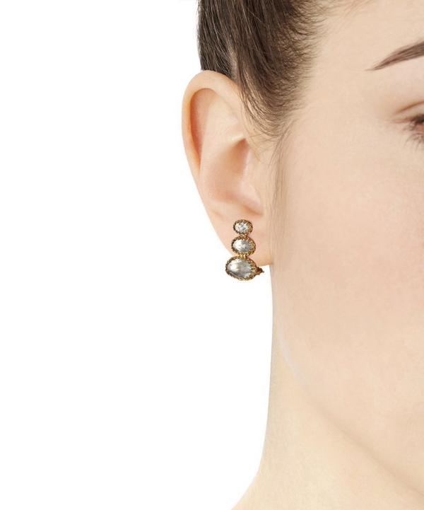 Gold Topaz Tessa Earrings