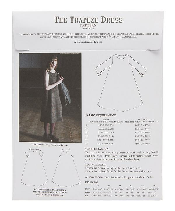 The Trapeze Dress Design Pattern