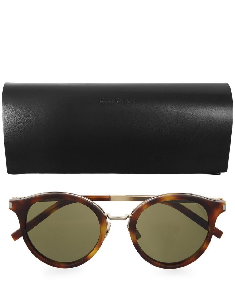 57 Round Metal Bridge Sunglasses