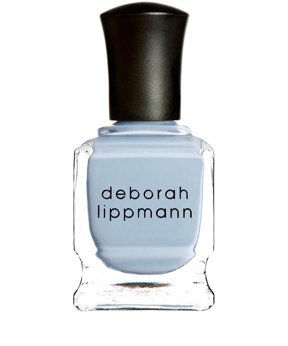 Nail Polish in Blue Orchid Crème Blossoming Baby Blue